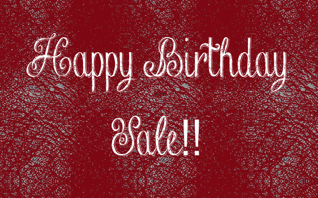 New Candle Wrap AND Birthday Sale!