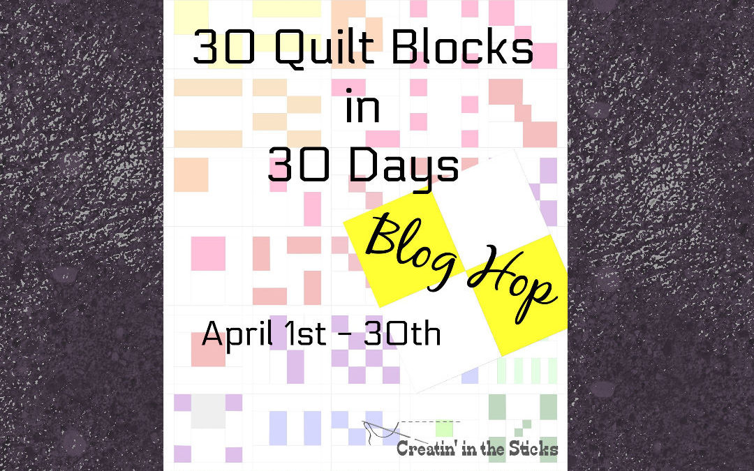 30 Quilts in 30 Days!
