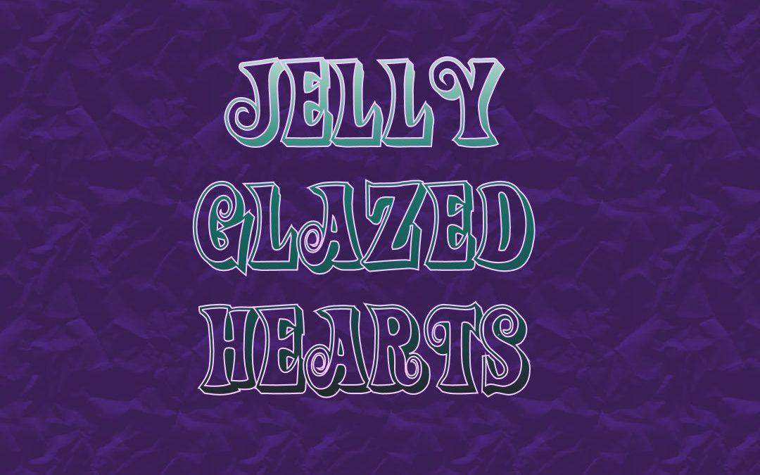 Jelly Glazed Hearts